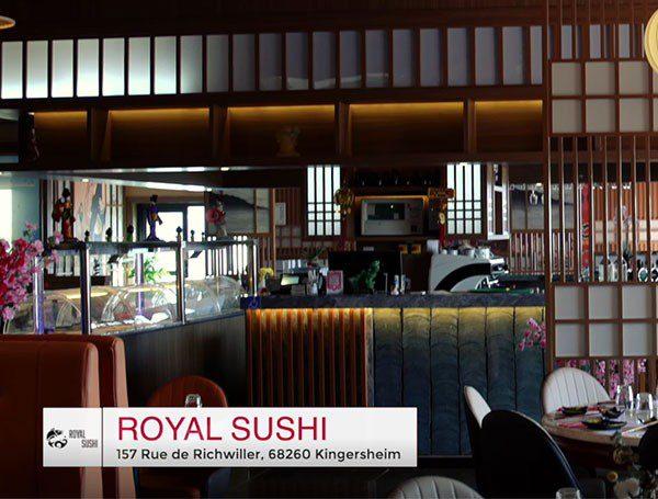Vidéo royal sushi